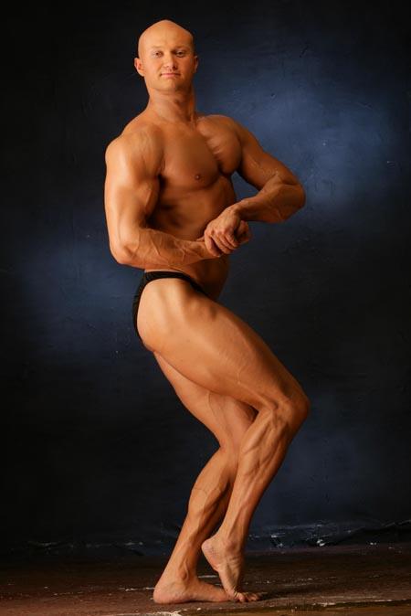 Фото чемпиона по бодибилдингу