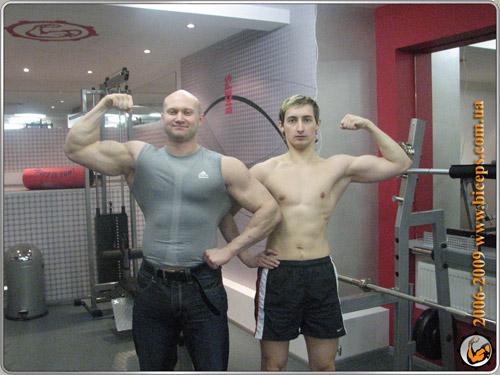 Фитнес-клубе Бицепс