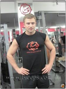 Безрукавка с логотипом сайта biceps.ua