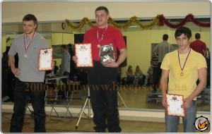 Константин Штребель - первое место по жиму штанги лежа