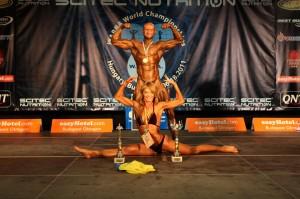 Юрий Спасокукоцкий и Анастасия Литвиненко Чемпионы Мира