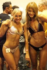 Две самые сексуально привлекательные девушки на Чемпионата Мира в Будапеште стоят рядом :)
