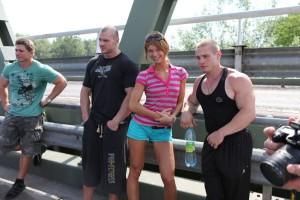 Украинская сборная на Чемпионате Мира по бодибилдингу WABBA ( ВАББА ) в Будапеште 18 мая 2011 года