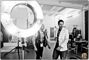Персональный тренер и чемпион по бодибилдингу Юрий Спасокукоцкий снялся в рекламе школы известного фотографа Тараса Маляревича