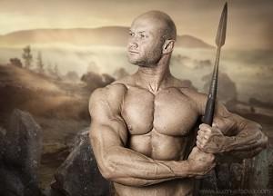 Юрий Спасокукоцкий в образе война