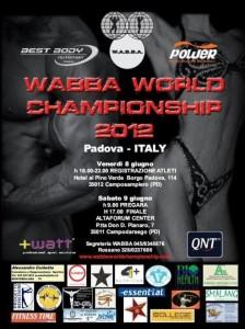Первые новости Чемпината Мира по бодибилдингу и фитнесу WABBA прошедшего в итальянском городе Падуя