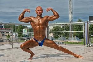Юрий Спасокукоцкий тоже воспользовался возможностью пофотографироваться возле ТРК Пирамида где проходил Чемпионат Мира!