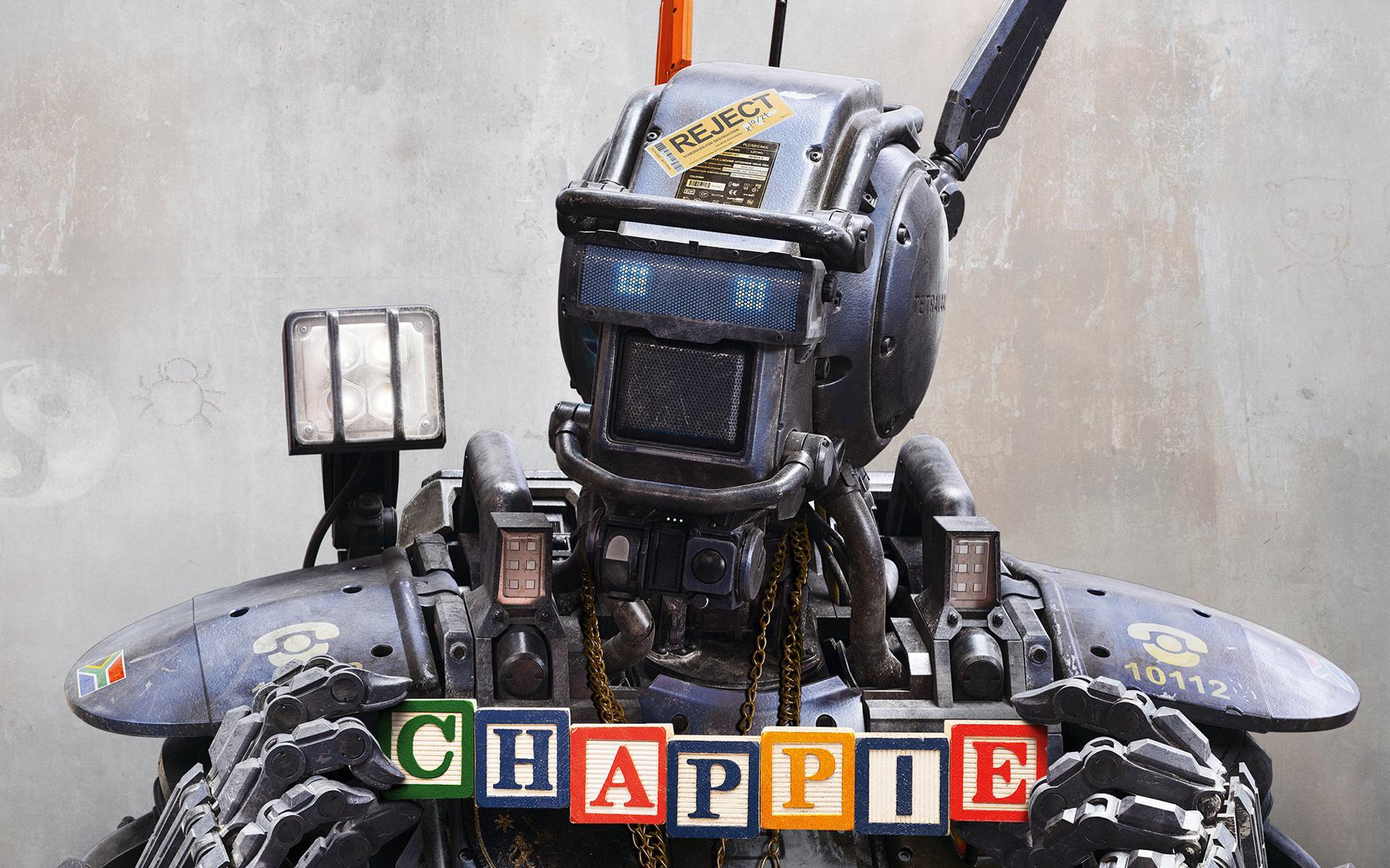 чаппи робот картинки