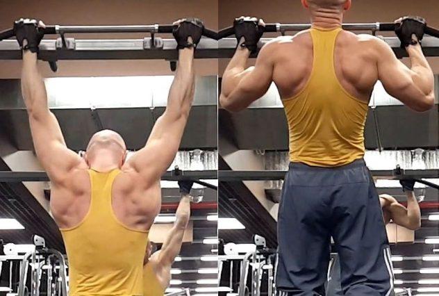 подтягивания-для-спины
