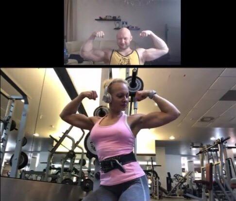 Красивая спортсменка Яна тренируется у Юрия Спасокукоцкого